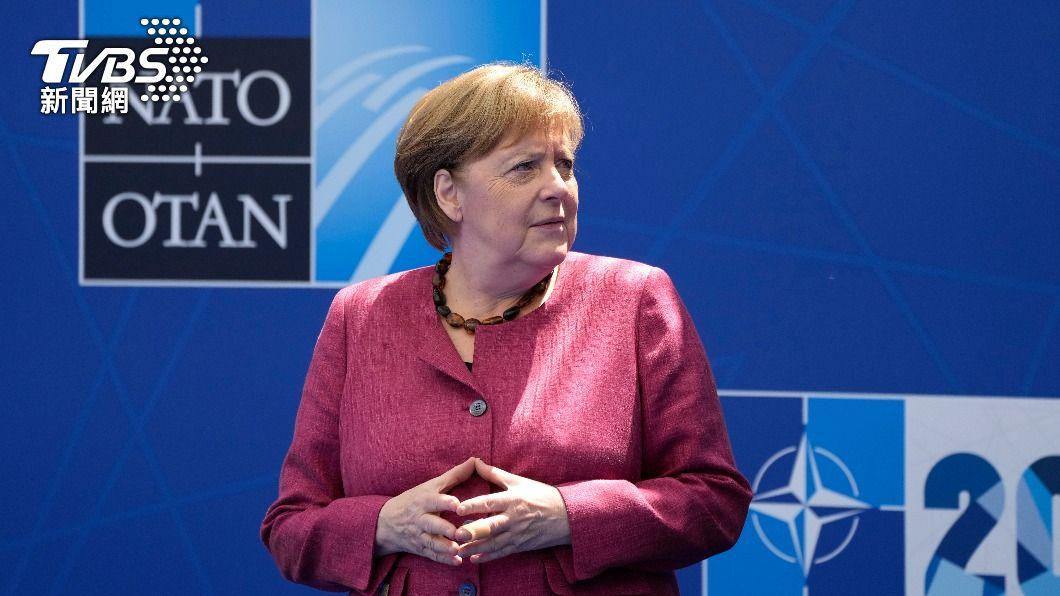 德國總理梅克爾。(圖/達志影像美聯社) 歐洲領袖緩和北約反中立場 德總理籲尋找平衡點