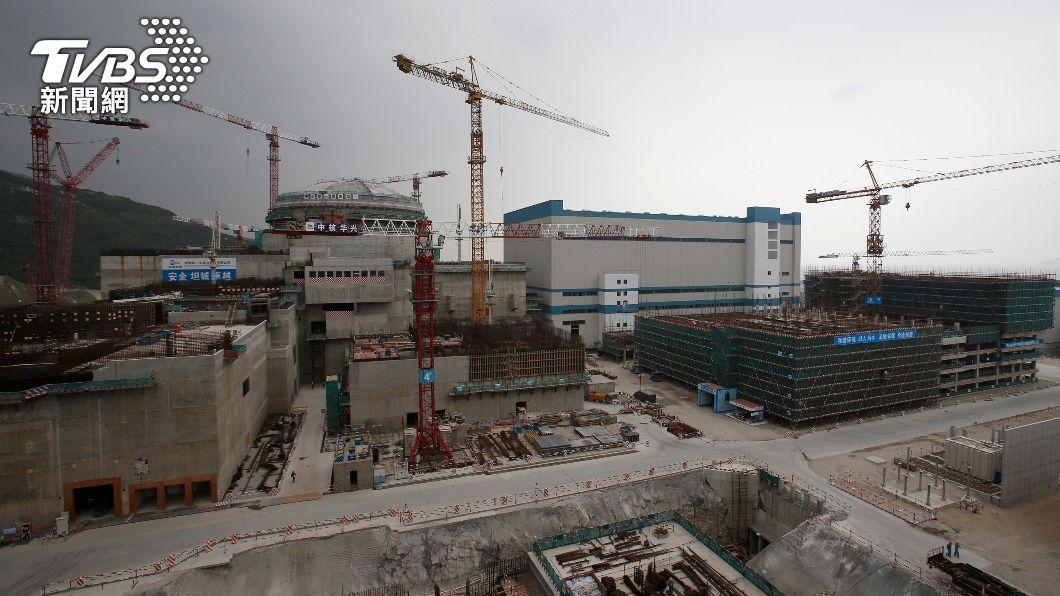 圖為廣東台山核電廠。(圖/達志影像路透社) 廣東核電廠傳「有輻射威脅」 法國合資企業檢查