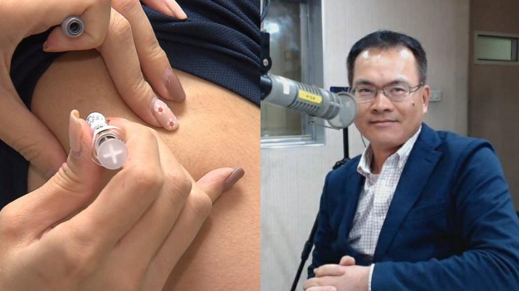 鄭弘儀透露科興疫苗的保護力。(圖/TVBS、鄭弘儀臉書) 藝人飛陸打疫苗!鄭弘儀揭「科興」保護力 來賓狂喊不打