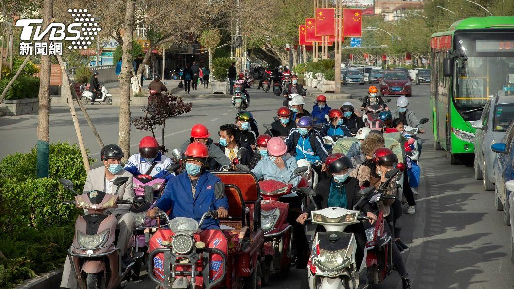 圖為新疆一處街景。(圖/達志影像美聯社) 新疆人口普查 官方:維吾爾族人口10年增162萬