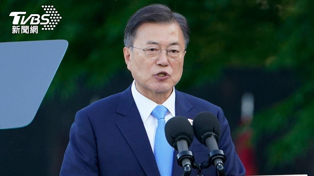 韓國總統文在寅。(圖/達志影像美聯社) 傳文在寅將為東奧訪日 日本政府否認:不是事實