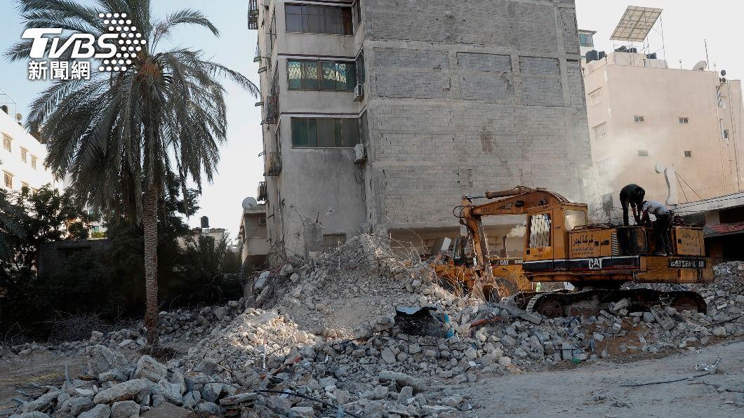 圖/達志影像美聯社 快訊/以巴停火破局? 哈瑪斯稱以色列空襲加薩