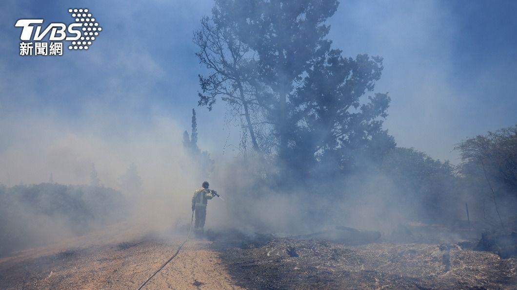 以巴再度發生衝突。(圖/達志影像美聯社) 停火不到1個月 以色列巴勒斯坦火藥味再起