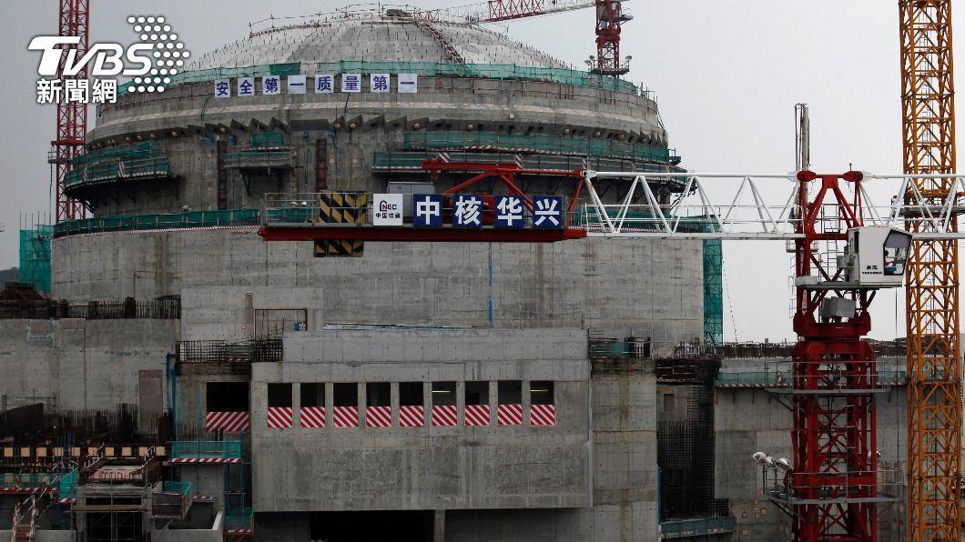 台山核電廠傳出氣體外洩。(圖/達志影像路透社) 大陸台山核廠傳輻射外洩 原能會:加強監測