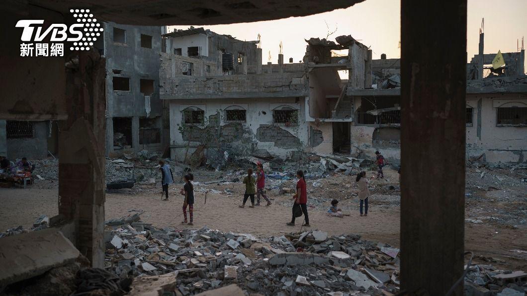 以巴再爆重大衝突。(圖/達志影像美聯社) 以巴衝突再起 巴勒斯坦放燃燒氣球以國空襲回擊