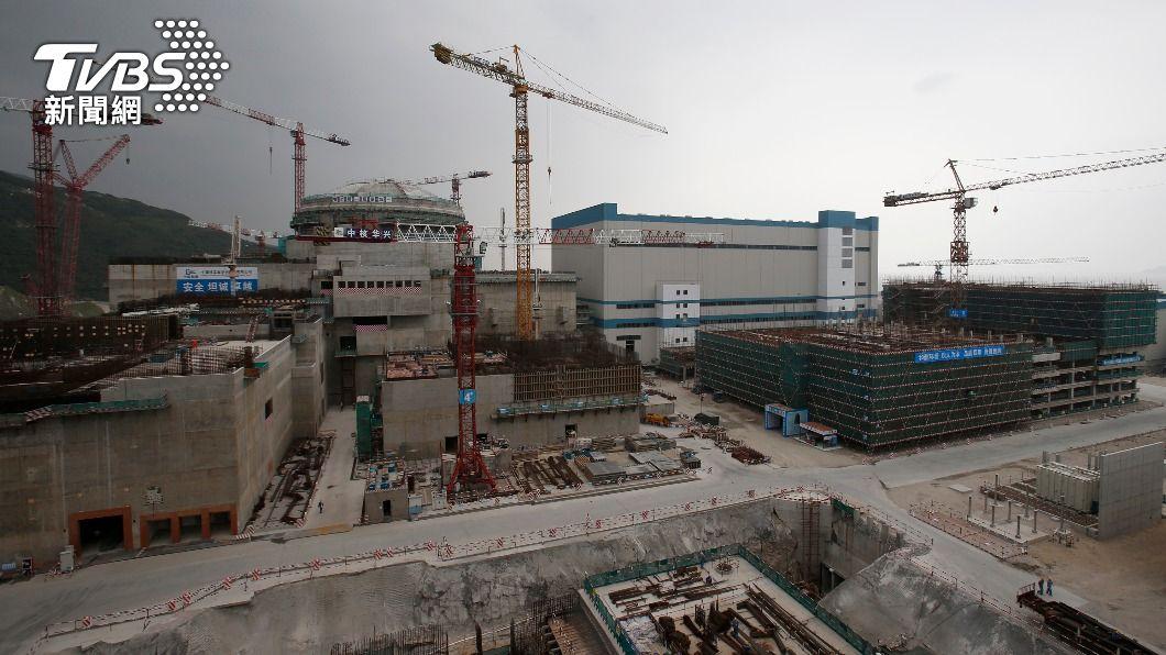 廣東台山核電廠。(圖/達志影像路透社) 大陸:台山核電廠冷卻劑放射性活度確有上升