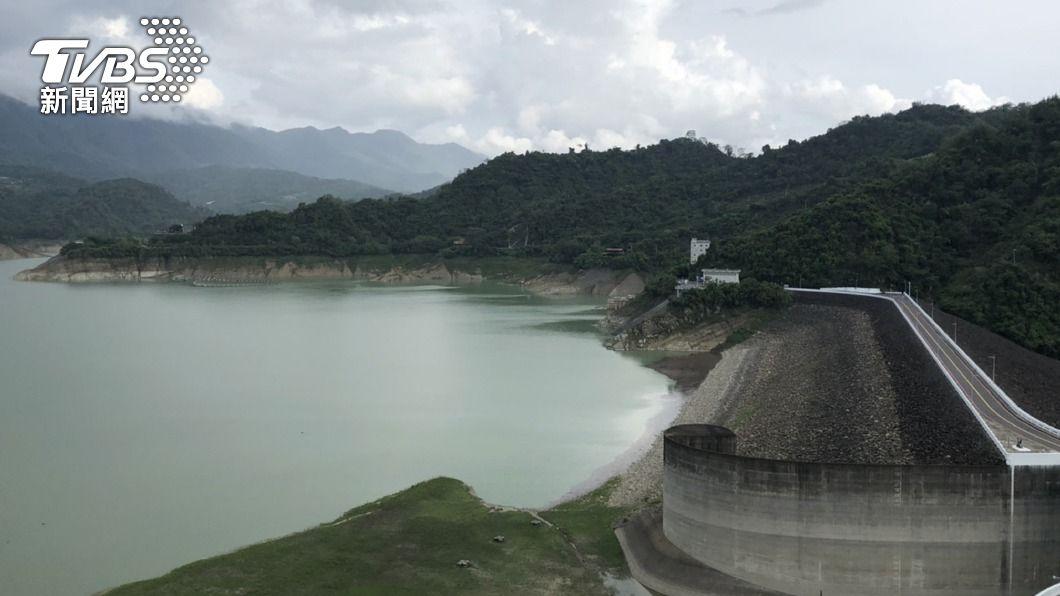 (圖/中央社) 曾文水庫蓄水仍不足 嘉義地區依舊減量供水