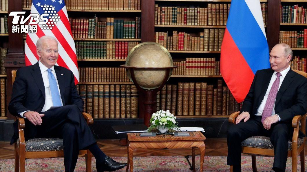 圖/達志影像路透社 美俄元首峰會提前結束 拜登快閃離場