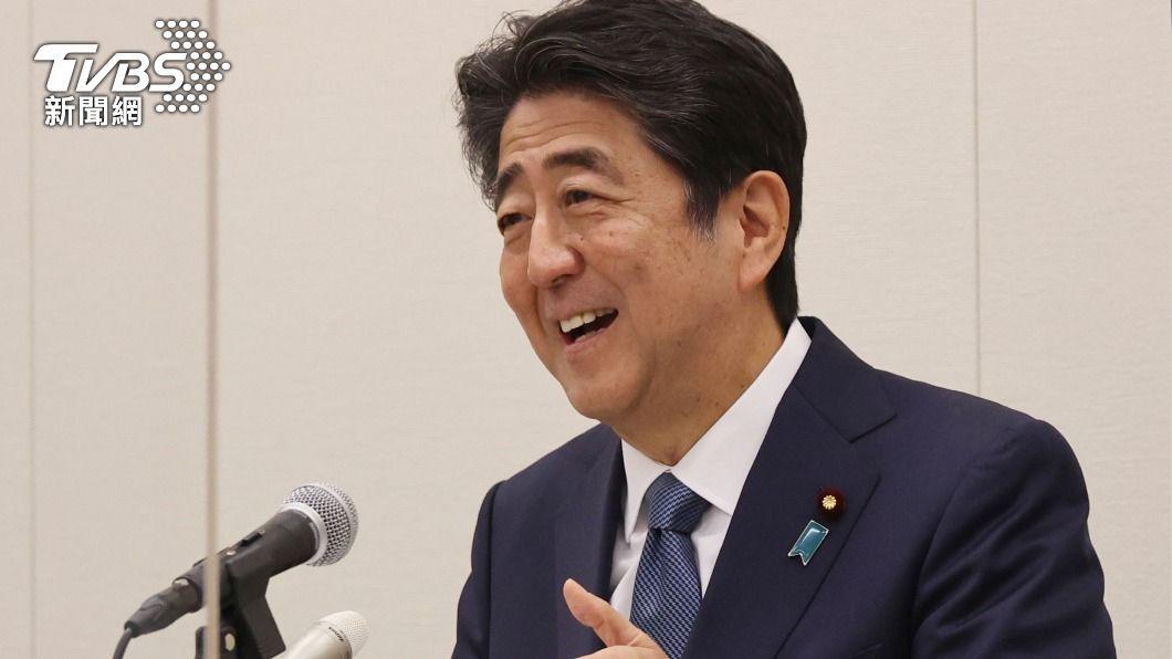 日本前首相安倍晉三。(圖/達志影像美聯社) 安倍:台灣是日本重要老朋友 提供疫苗理所當然