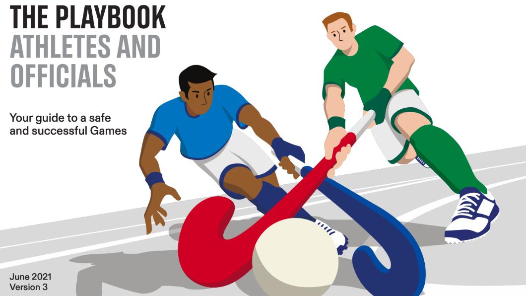 東京奧運最新版防疫手冊。(圖/翻攝自TOKYO2020官網) 東奧防疫!選手攜GPS手機、一日篩檢兩次 違者恐遣返