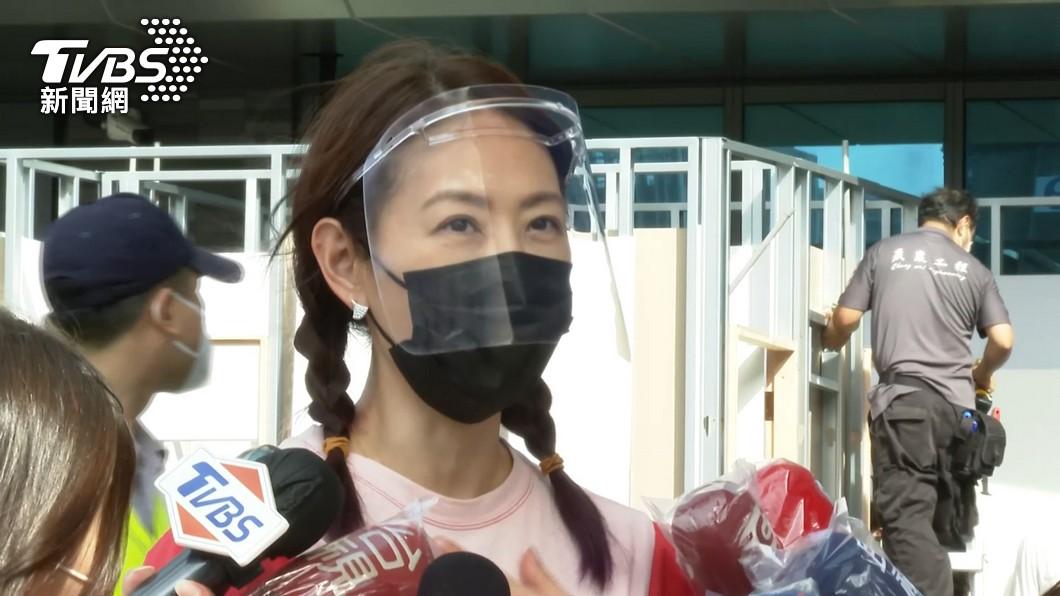 賈永婕對「暫離台灣」一事給予回應。(圖/TVBS資料畫面) 被爆將暫離台灣! 賈永婕說明實情:不用誰來接班