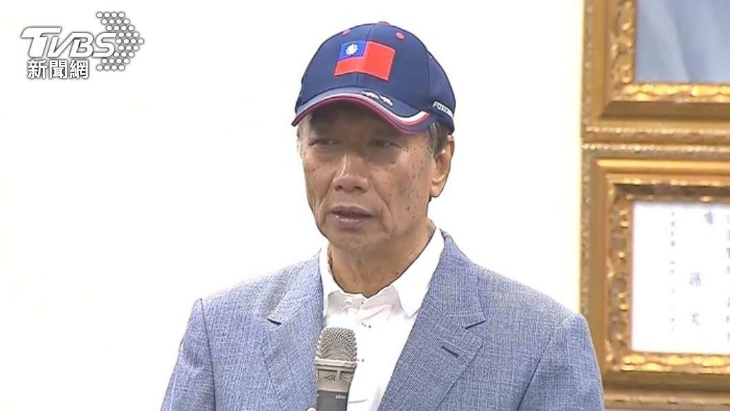 郭台銘呼籲提高奧運奪牌獎金。(圖/TVBS) 金牌給1億!郭台銘喊提高奧運獎金 郭婞淳可拿「4億」