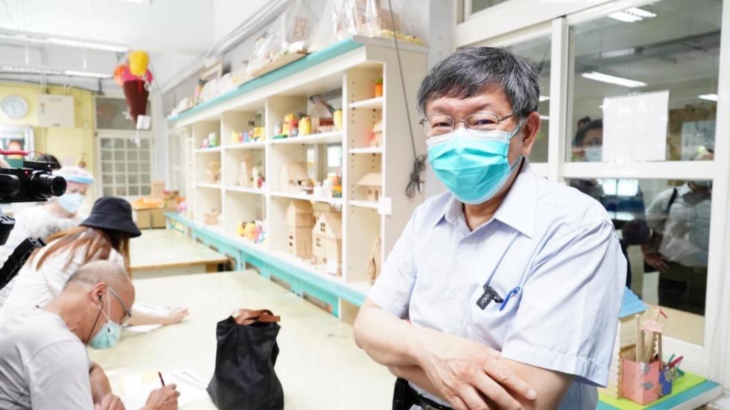 台北市市長柯文哲。(圖/翻攝自柯文哲臉書) 疫苗猝死影響接種率?柯文哲認「沒有98%這麼高了」