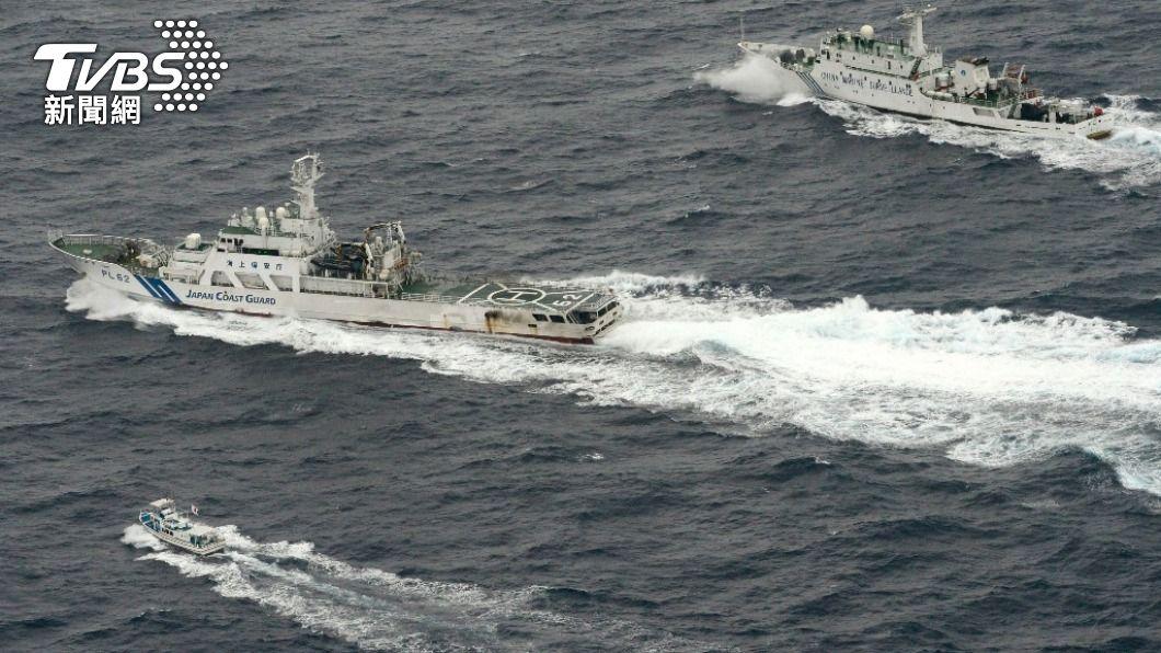 日美海軍目前為止今年的共同演練次數多達23次。(示意圖/達志影像 路透社) 日美海軍共同訓練激增 牽制中國大陸海警船入侵
