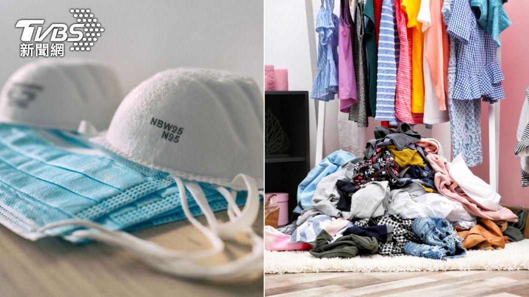 口罩支架、衣服是不少網友公認防疫期間最易失手購買的物品。(示意圖/Shutterstock達志影像) 疫情期間買了秒後悔? 2防疫熱銷商品意外上榜