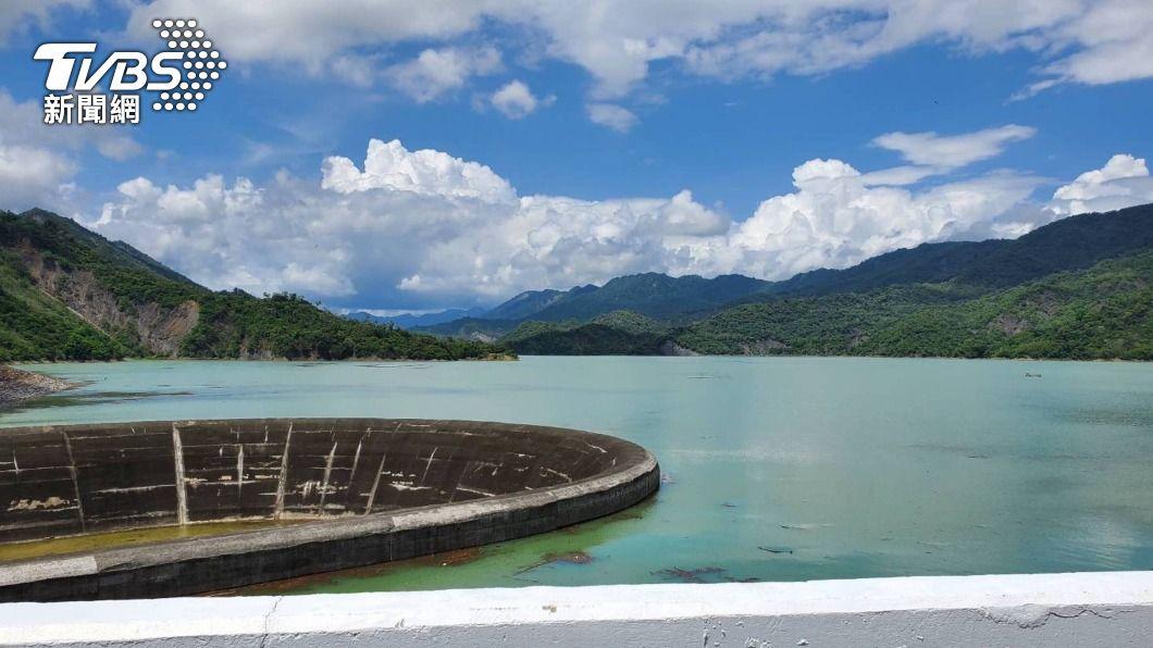 南化水庫蓄水率近9成。(圖/中央社) 南化水庫蓄水近9成 南市府建議以南化為優先