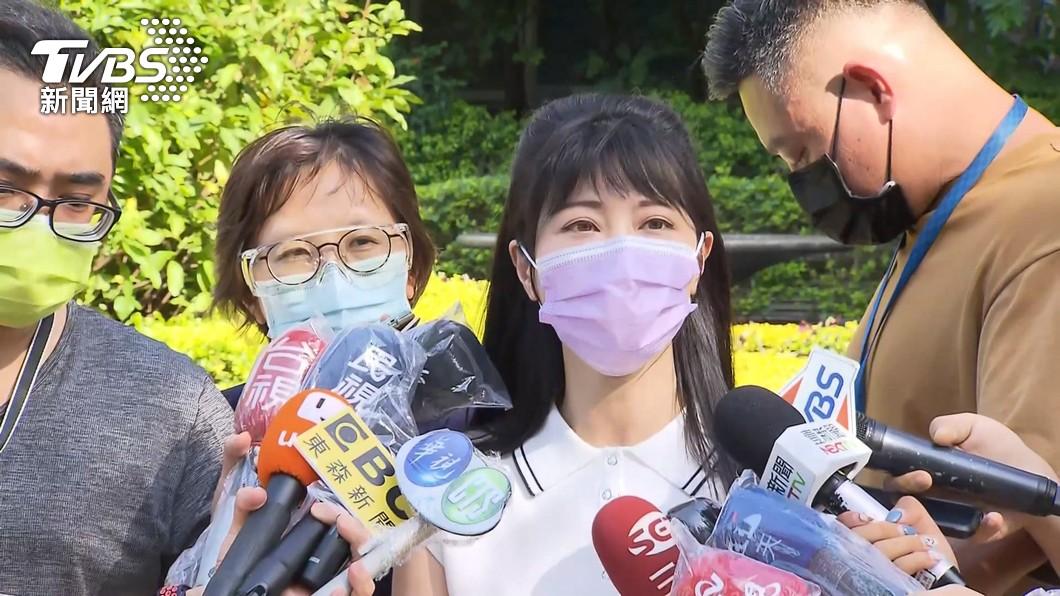 民進黨立委高嘉瑜出面澄清事件原委。(圖/TVBS資料畫面) 幫診所爭取疫苗遭轟爆 高嘉瑜還原經過:公道自在人心