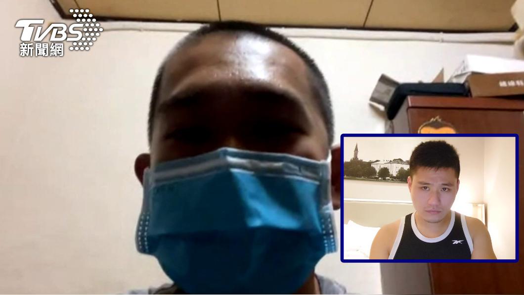 黃先生母親為了洗腎因此接種AZ疫苗。(圖/TVBS) 母為洗腎接種AZ疑血栓昏迷不醒 男慟:還要發生多少件