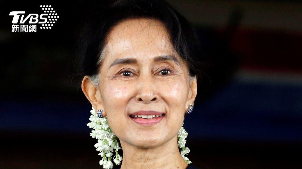 17日是翁山蘇姬生日。(圖/達志影像 路透社) 慶祝翁山蘇姬生日 東京街頭緬甸人齊唱生日快樂歌