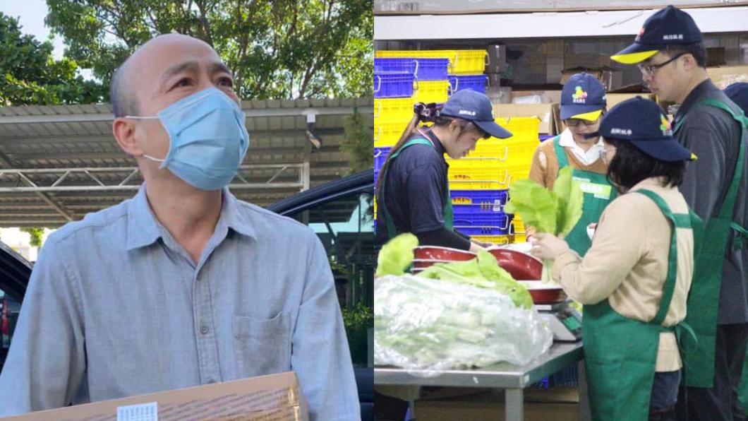 韓國瑜看見北農老同事們染疫的消息,感到憂心與不捨。(圖/翻攝自韓國瑜臉書) 北農爆群聚!韓國瑜不捨「18老同事染疫」:願一切安好