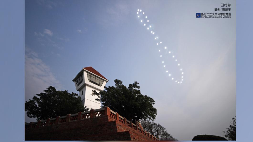 圖/臺北市立天文科學教育館 夏至限定的驚奇自然現象 太陽也踩舞步