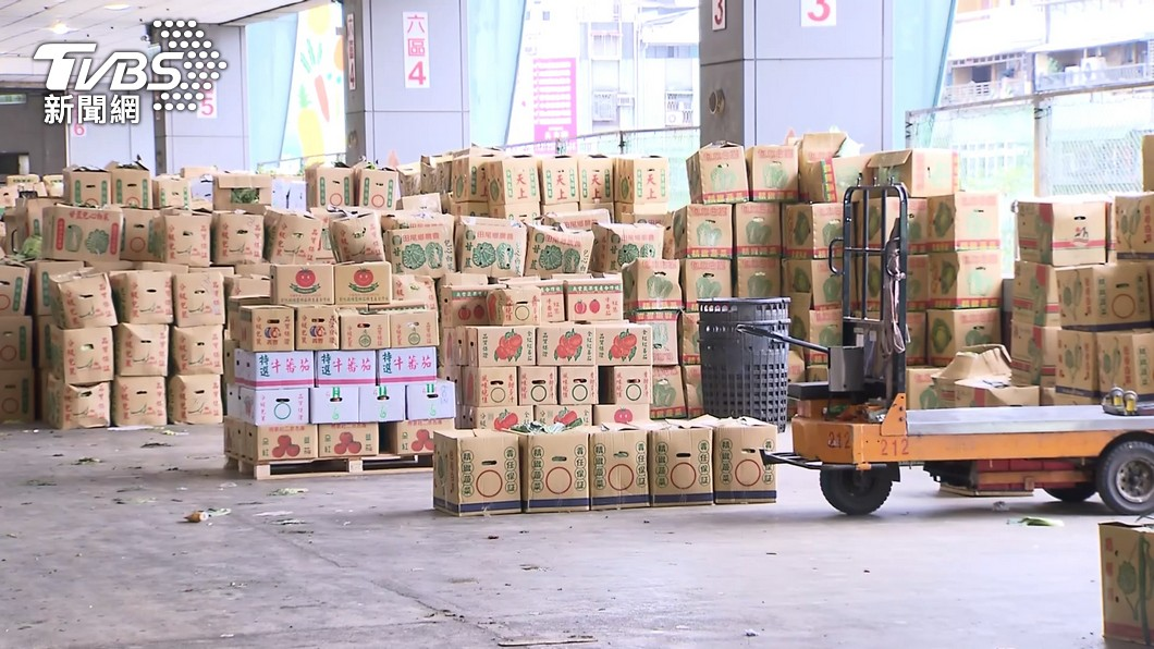 台北農產公司已經有45人染疫。(圖/TVBS資料畫面) 北農爆45人染疫中央出手? 王必勝:仍由北市主導
