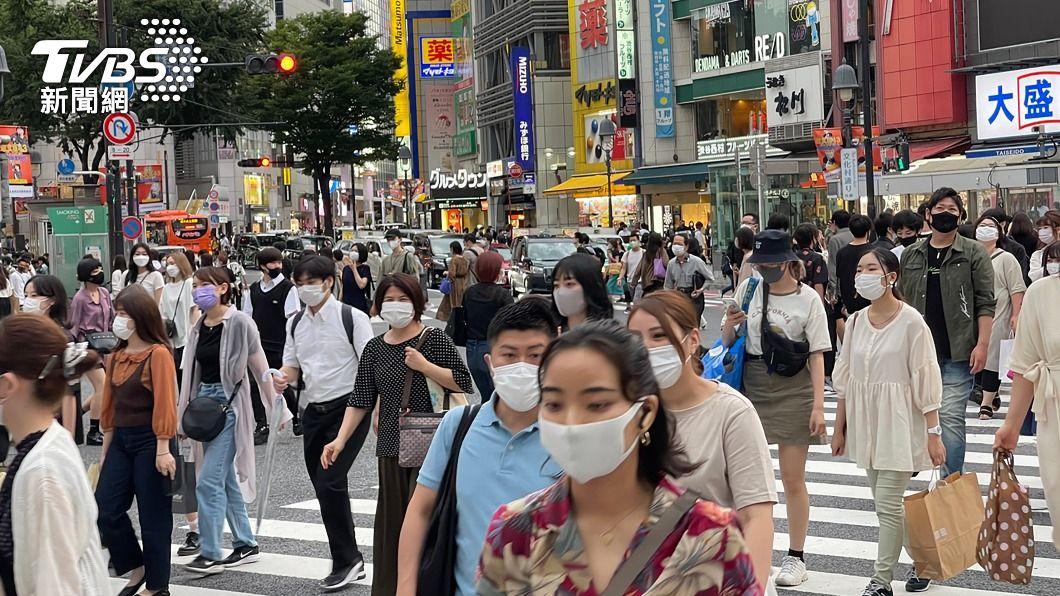 圖為東京澀谷車站前。(圖/中央社) 日媒:86%日人憂東奧使疫情擴大 30%認為應取消