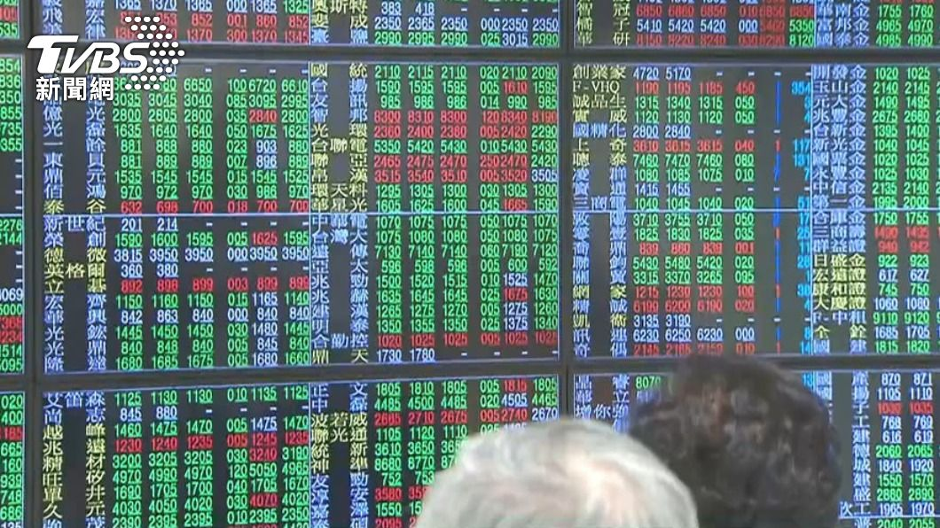 (圖/TVBS資料畫面) 台股早盤跌逾70點 電子族群聚人氣