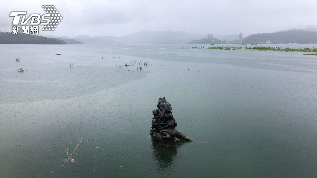 日月潭水庫蓄水率已達95%(圖/中央社) 日月潭蓄水率破95% 居民盼雨挹注其他缺水水庫