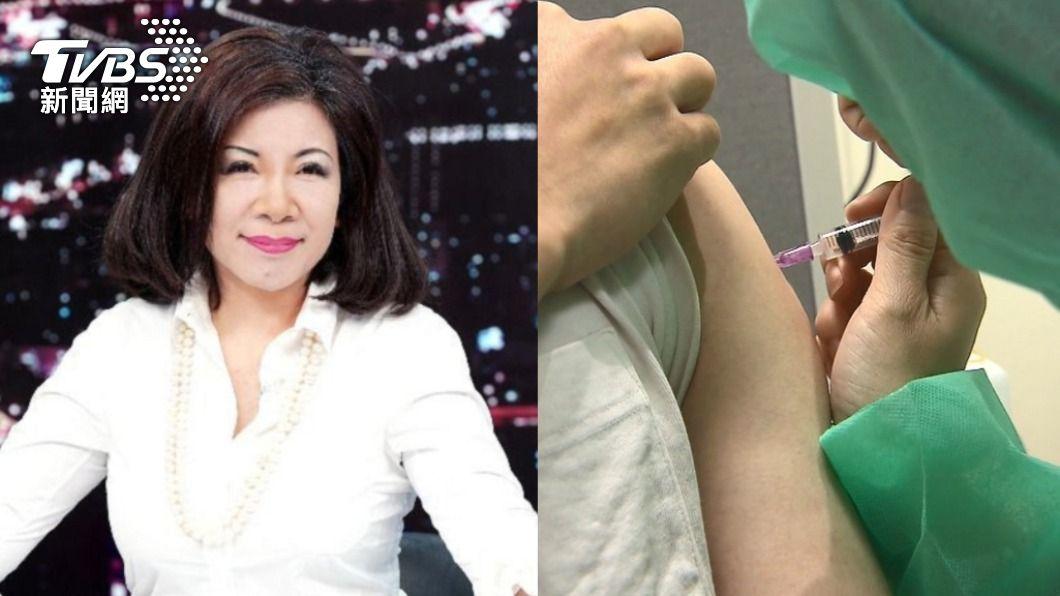陳文茜呼籲「不要遲疑打疫苗」。(圖/TVBS) 猝死爆緩打潮!陳文茜籲「快打疫苗」政治別在人命之上