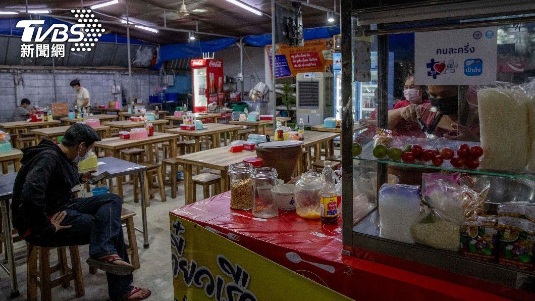 曼谷防疫規定放寬。(圖/達志影像美聯社) 曼谷進一步放寬防疫規定 餐廳可延長營業時間