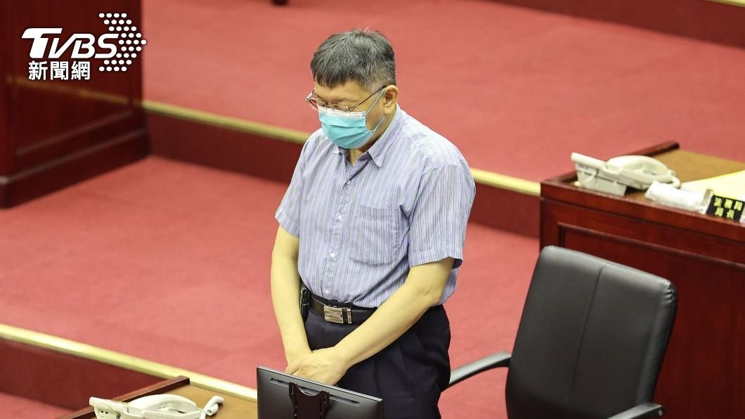 台北市長柯文哲。(圖/中央社) 北農4千員工將接種 柯文哲下令:街友也全打疫苗