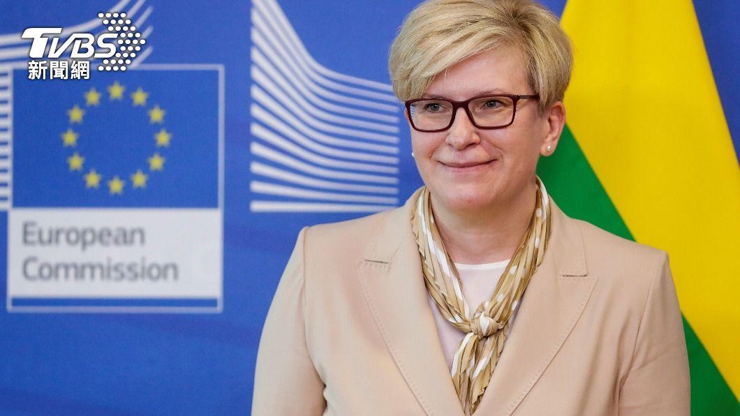 立陶宛總理宣布將捐贈台灣2萬劑疫苗。(圖/達志影像路透社) 國際再伸手!立陶宛政府宣布:贈台灣2萬劑AZ疫苗