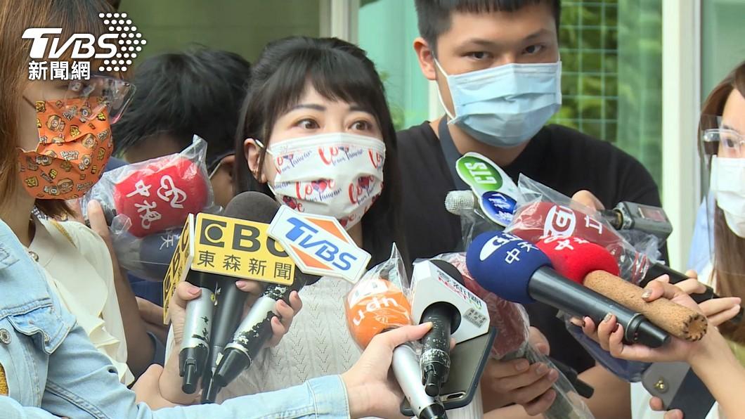 民進黨立委高嘉瑜。(圖/TVBS資料畫面) 高嘉瑜不滿被遭爆料 柯文哲:只是陳述事實、躲不掉啦