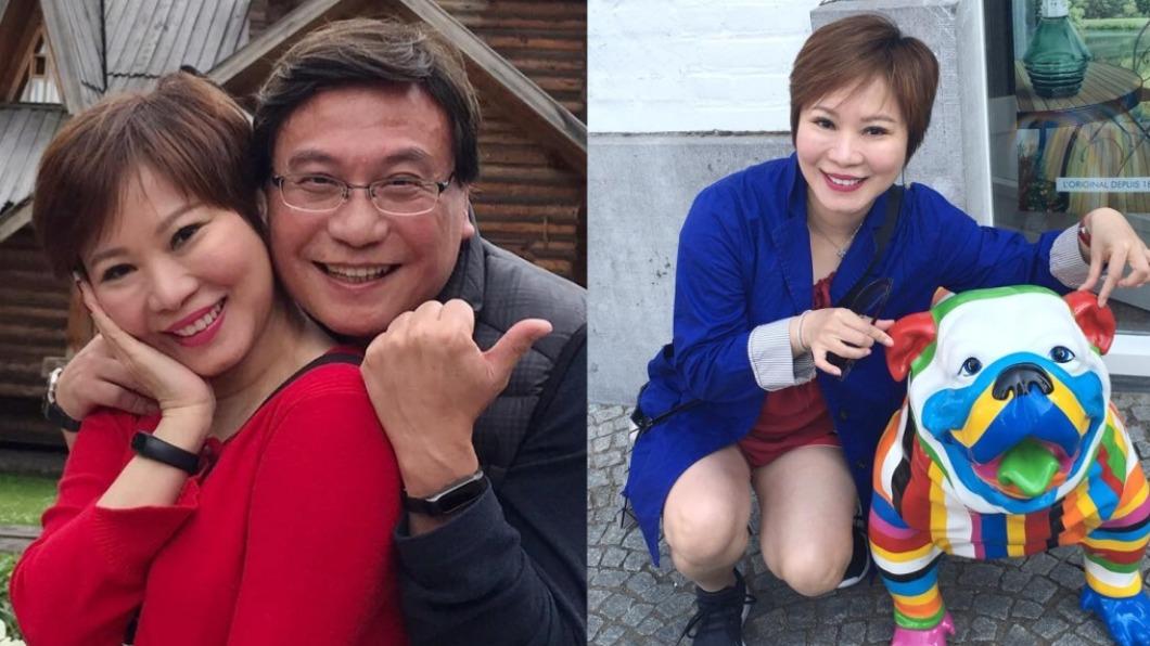 全嘉莉老公罹癌病逝。(圖/翻攝自全嘉莉臉書) 名嘴「許願折壽」給腦癌尪 2個月後胸部發現硬塊