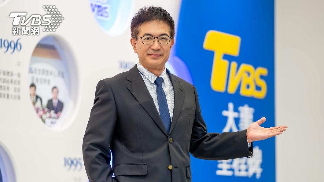 氣象專家謝明昌加入TVBS氣象團隊。(圖/TVBS) 任立渝榮退欽點接棒 謝明昌加入TVBS氣象團隊