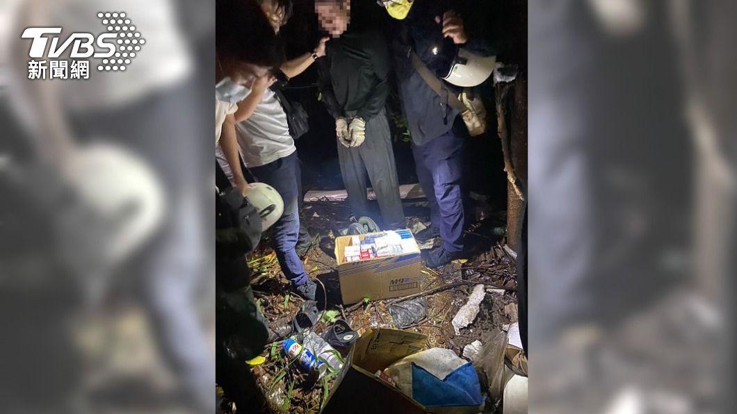 男子犯下多起竊盜案。(圖/中央社) 三級警戒民眾宅在家 竊嫌改偷打烊店家遭逮