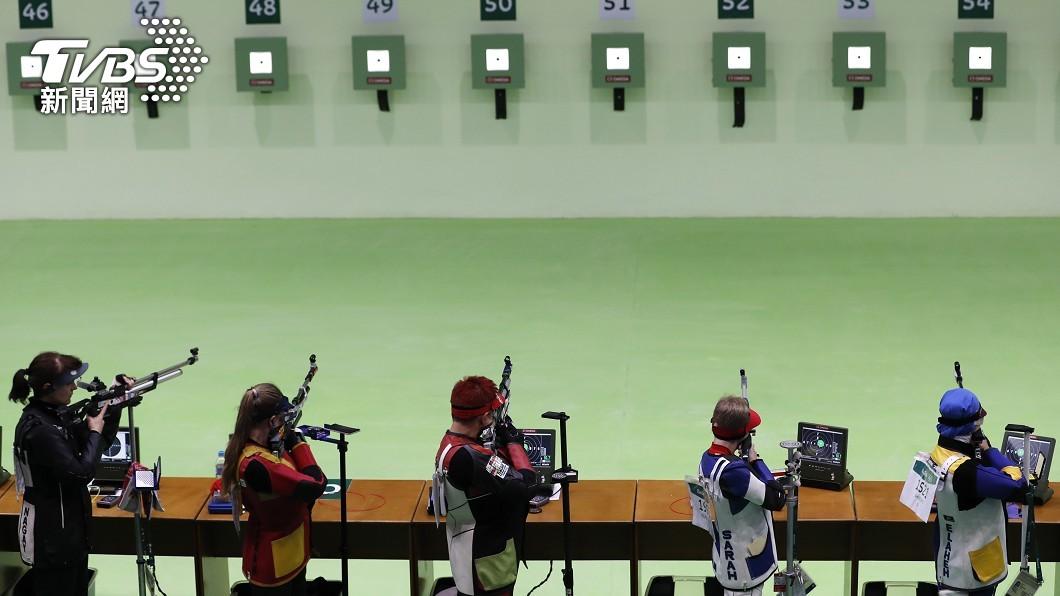 圖/達志影像美聯社 女子10公尺空氣步槍 美中瞄準奧運首金