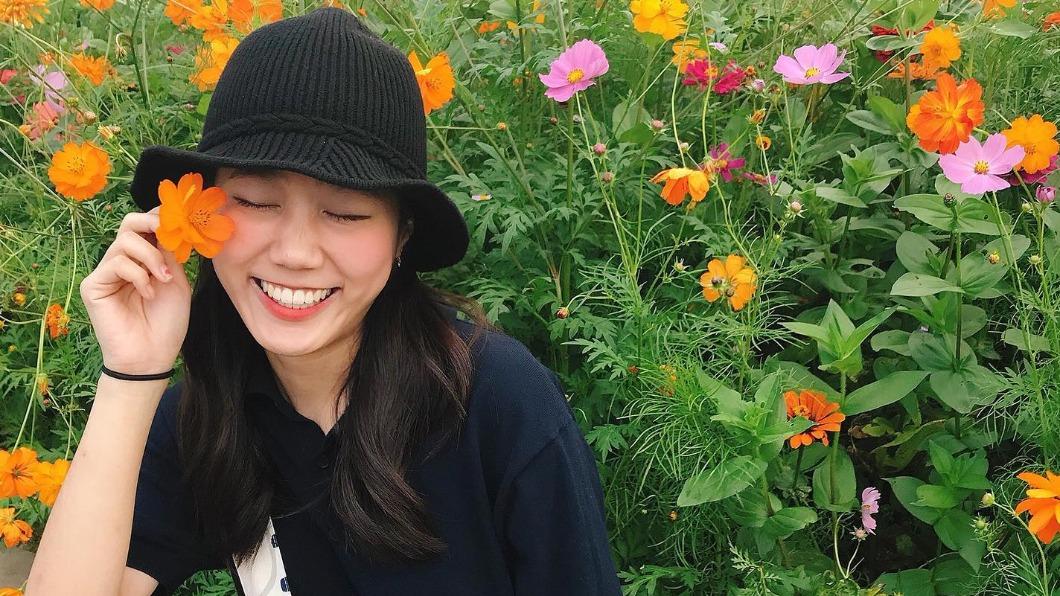 YouTuber「韓勾ㄟ金針菇」經常分享台韓文化差異。(圖/韓勾ㄟ金針菇粉絲專頁) 韓國增長頭髮偏方是這樣?金針菇曝「色色的」秘訣