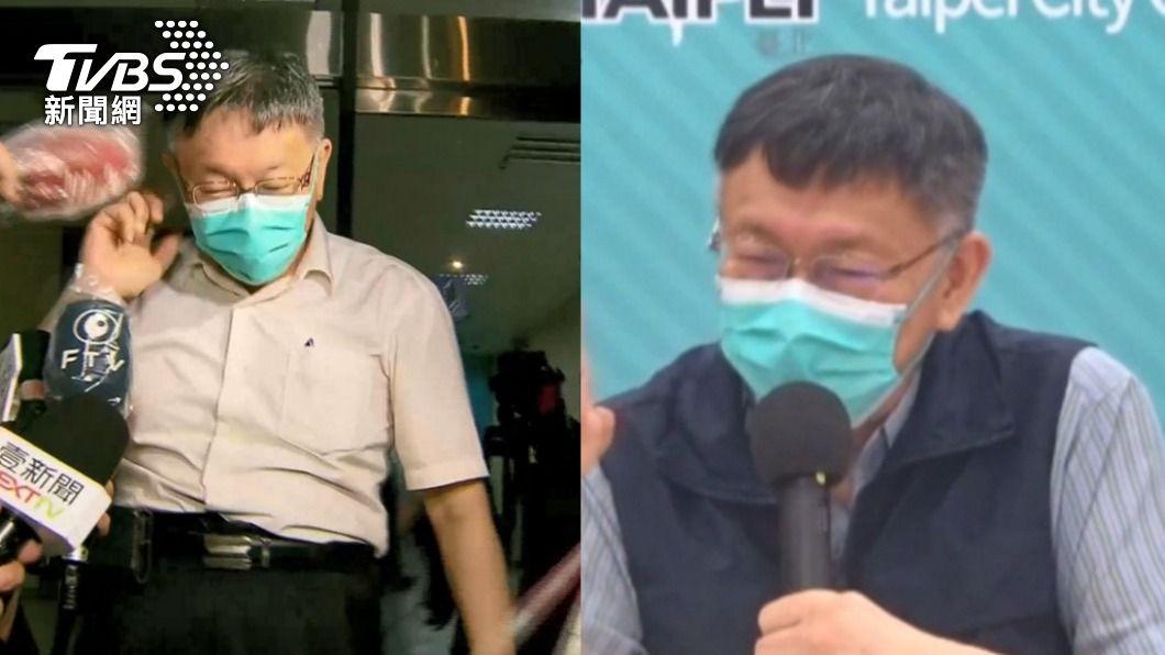 柯文哲近來飽受批評。(圖/TVBS資料畫面) 支持柯文哲錯了?醫發起「道歉大會」網怒吼:超後悔