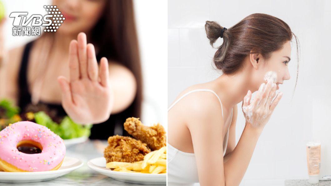 預防皮膚老化可從飲食、調整生活作息開始。(示意圖/Shutterstock達志影像) 這些食物超傷皮膚! 醫授5招養出光滑嫩肌抗老化