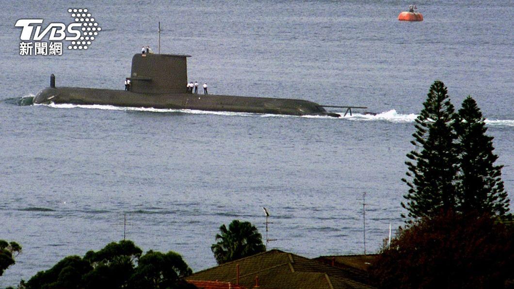 澳洲柯林斯號潛艦。(圖/達志影像路透社) 南海局勢日趨緊張 凱恩斯港成澳洲國防前哨據點