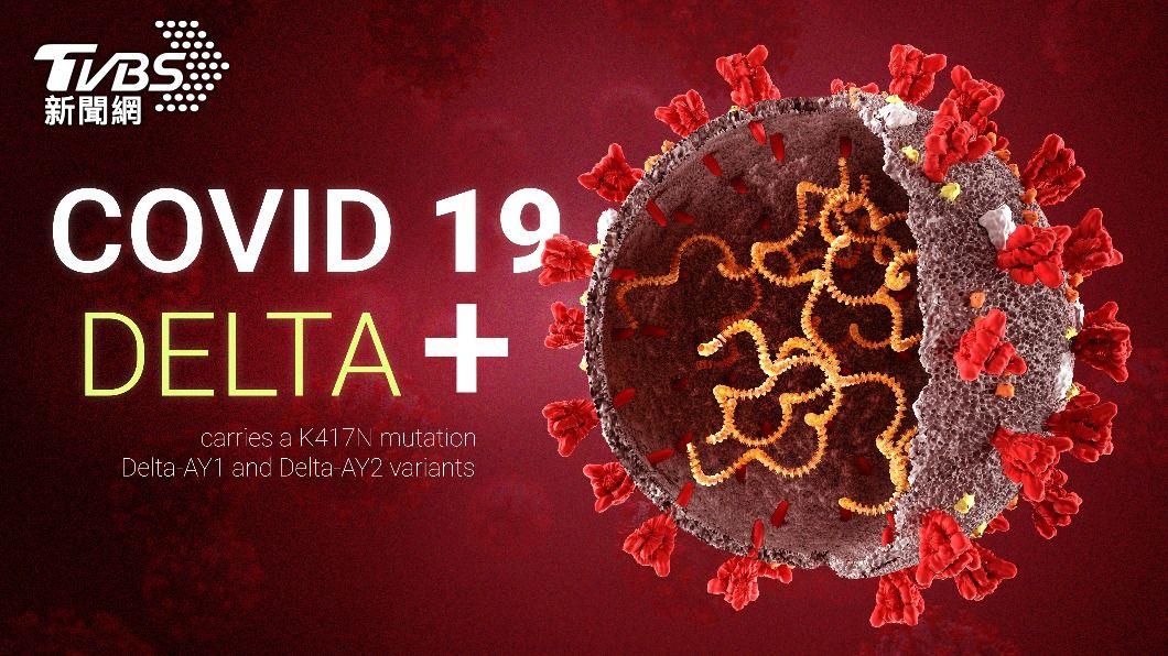 專家目前也正強烈關注「Delta+」變種病毒。(圖/shutterstock達志影像) 驚!Delta病毒進化版 Delta+全球11國淪陷