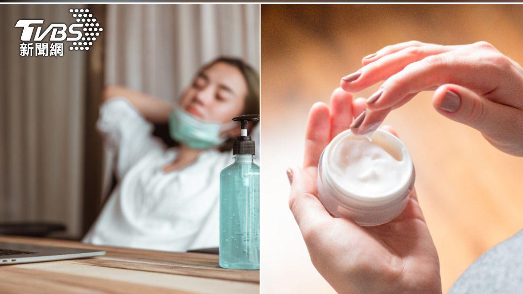 居家辦公增加待在冷氣房的時間,皮膚更需做好保濕工作。(示意圖/Shutterstock達志影像) WFH吹冷氣皮膚更乾 懶人「保濕3步驟」找回水潤肌