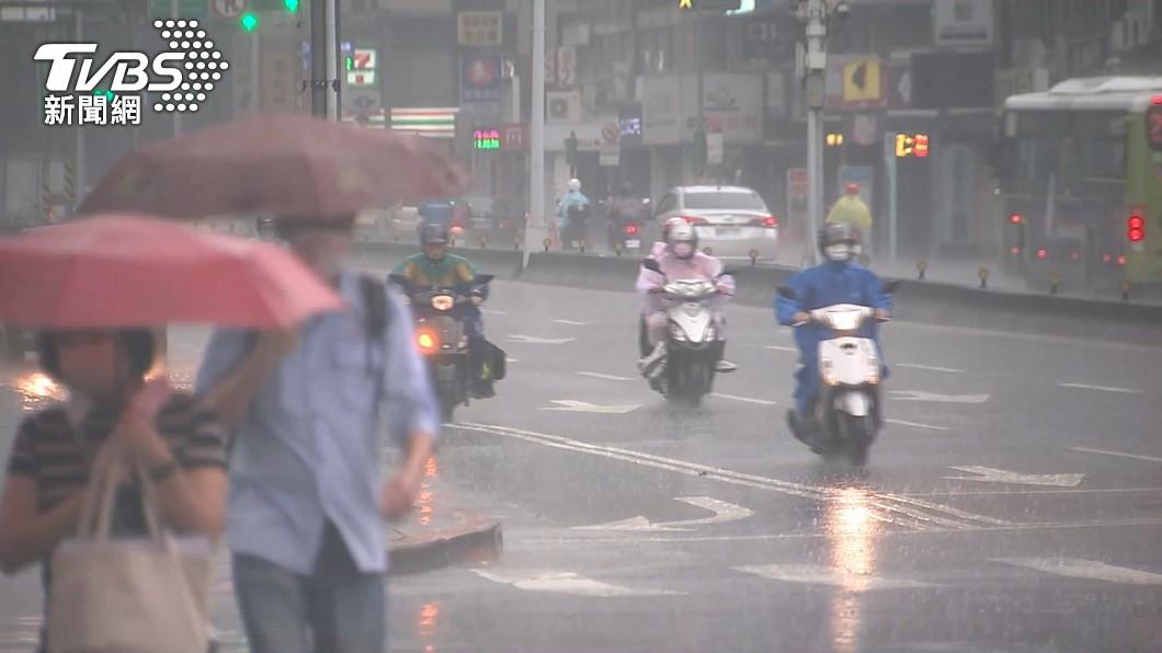 示意圖/TVBS資料畫面 快訊/嘉市、東石、大林、民雄 發布一級淹水警戒