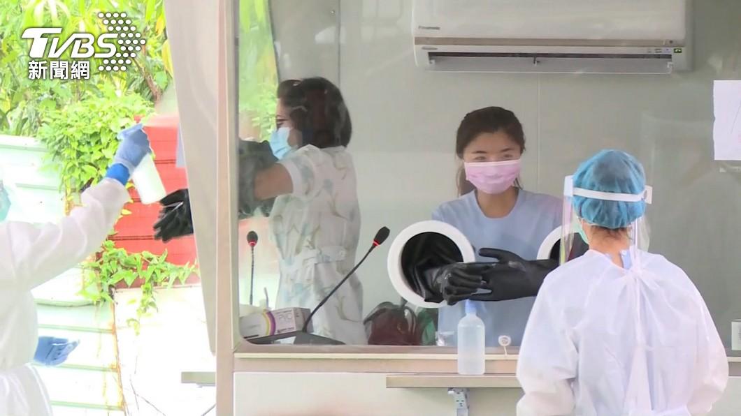 印度變種新冠病毒進入台灣社區。(非當事人,示意圖/TVBS) 圍堵Delta病毒! 陳時中宣布「3大加強措施」