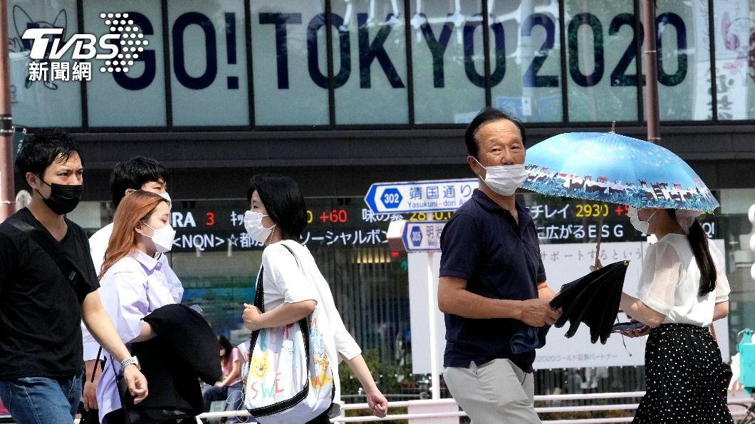 圖/達志影像美聯社 快訊/東京單日破5千例創新高 防疫措施再增8縣