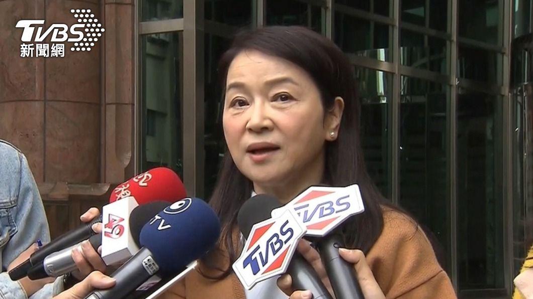 媒體人周玉蔻稱要炸掉民進黨中央黨部。(圖/TVBS資料畫面) 周玉蔻嗆「炸掉民進黨中央黨部」 警不排除傳喚到案