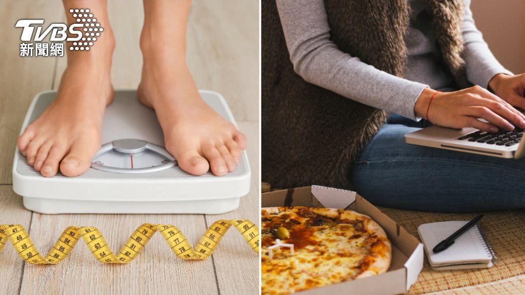 居家防疫期間,過度飲食造成肥胖恐增重症感染風險。(示意圖/shutterstock達志影像) 「防疫胖」易增重症風險 5原則宅而不胖更健康