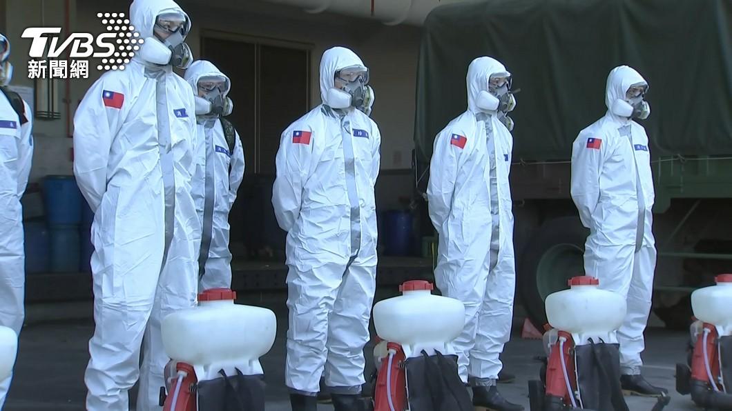 台灣5月爆發本土疫情,如今已逐漸趨緩。(示意圖/TVBS) +721到8例僅56天!他讚世界奇蹟 網諷:死亡率也是